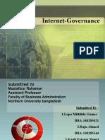 Internet Governance Presentation