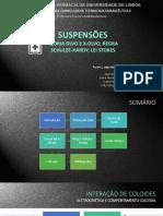 Suspensões P.zeta DLVO Lei de Stokes Turma 1%2c Grupo 1