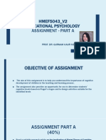 Guidelines to Assignment Part A
