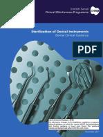 SDCEP Sterilization of Dental Instruments Jan2016