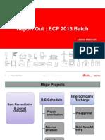 ECP Report