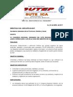 Directiva Congreso Regional Ordinario Junio-2017