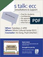 Let's Talk Ecc Flyer