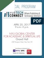 PubTech Connect April 20, 2017