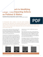A New Approach to Identify Large, Yield Impacting Defects on Polished Si Wafers