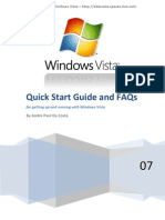 Windows Vista Quick Start Guide