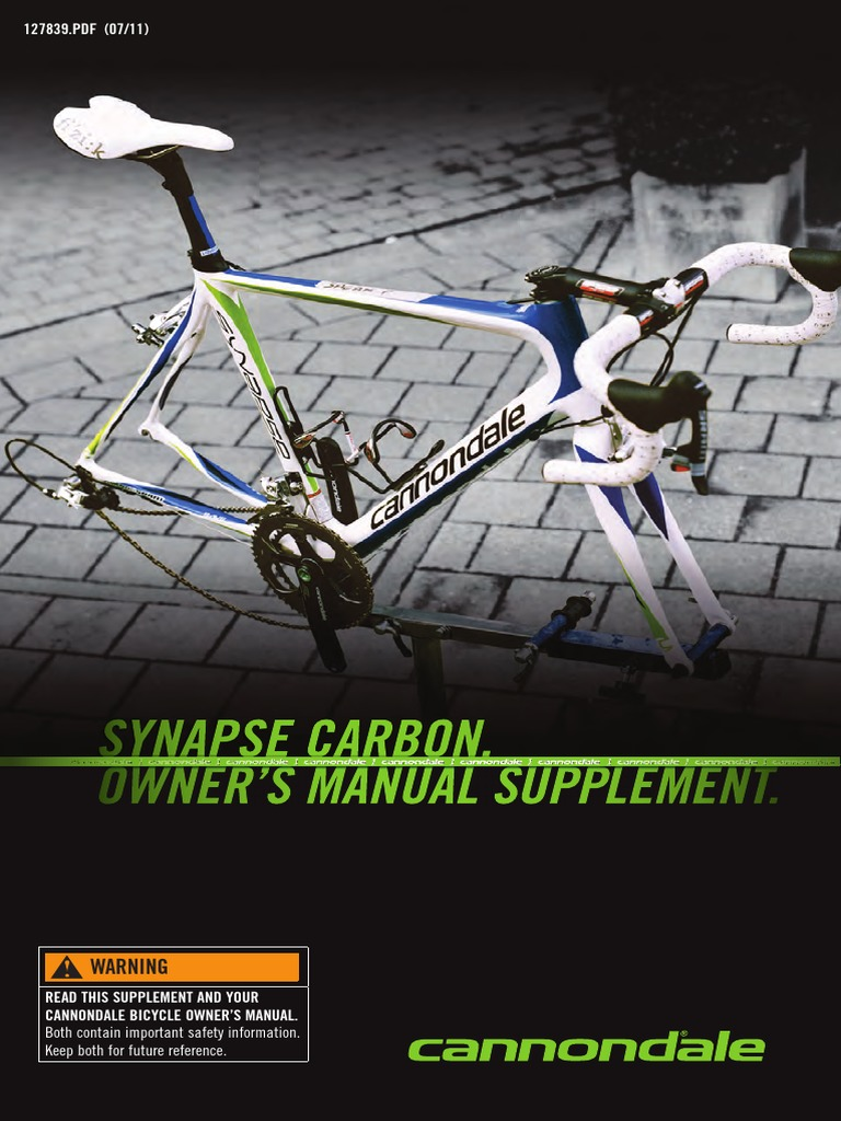 KP095 NEW! Cannondale Synapse Carbon Seatbinder