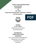 PROGRAMME MANAGEMENT.docx