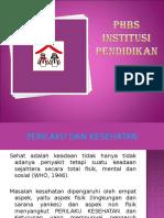 15 Indikator PHBS Institusi Pendidikan