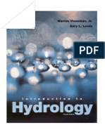 Introduction to Hydrology by Warren Viessman