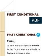 First Conditional Ppt