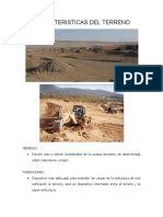 caracteristicas del terreno
