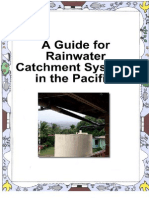 A Guide for Rainwater Catchment Systems in the Pacific