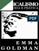 Emma Goldman Sindicalismo Sua Teoria e Pratica