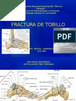Fractura de Tobillo TRM