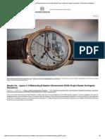 Hands-On – James C. Pellaton Royal Marine Chronometer