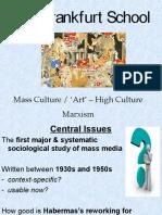 Frankfurt School Mass Culture _ 'Art' – High Culture Marxism-PPT-31