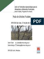 Botanica - Arboricultura - Poda de Arboles Frutales (INTA)