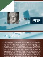 Metafísica -La Sustancia -Presentación