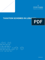 Taxation Schemes in Lebanon
