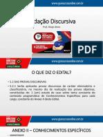 Redação Discursiva - Diogo Alves