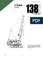 138hslt Crawler Crane