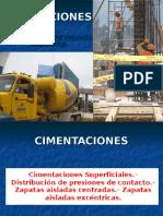 CONSTRUCCION - CIMENTACIONES