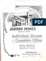 1920 Annual Sales Catalog from Aladdin Homes