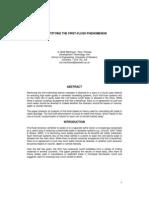 Quantifying the First-Flush Phenomenon