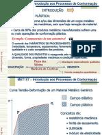 01 - Introdução e Classificação Dos Processos de conformaçao