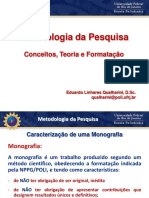 2ª Aula - Metodologia Da Pesquisa - GGP40
