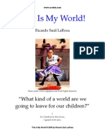 This is My World! A Celebration of Hope - poem only