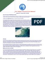 Gulf Oil Gusher Danger of Tsunamis From Methane - ATCA