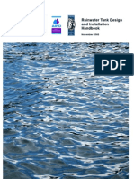 Rainwater Tank Desing and Installation Handbook