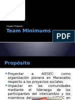 Team Minimums - Impact Projects