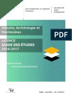 2 UNICAEN UFR HSS Guide 14x21-3-Histoire Licence