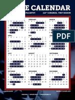 2017 House Calendar