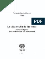 Santos Granero Fernando_introducción_en La Vida Oculta de Las Cosas_pag. 13-51