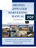Virginia Rainwater Harvesting Manual