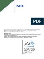 Nec XN120 Battery Box