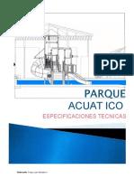 Especificaciones Tecn Parque Acuatico