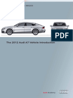 2012 A7 Vehicle Introduction