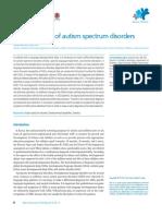 Articulo complementario 1 - Recent update of autism spectrum disorders.pdf