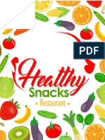 Healthy Snacks Restaurant