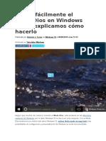 Activa fácilmente el Modo Dios en Windows 10.docx