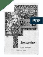 20 Mélodies, volume 1
