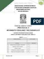 P04 Tiro Parabolico