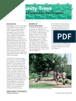 Establishing a Community Tree Program