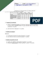 exerciceslogistiquedentreprise01082
