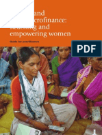 Rural Micro Finance - Reaching and Empowering Women - A Guide for Practitioners